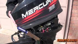2 stroke mercury 25hp Carburetor Removal