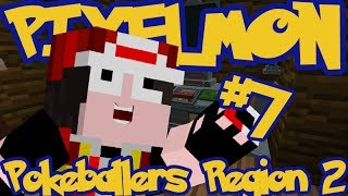 Minecraft Pixelmon: Pokeballers Server Region 2 - Episode 7 - Trading Graveler!!