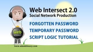 9. Forgot Account Password Form Email Script Ajax PHP MySQL Tutorial
