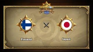 JPN vs FIN, game 1