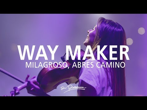 Milagroso, Abres Camino / Aquí Estás -@Su Presencia (Way Maker -Sinach) - Español | Música Cristiana