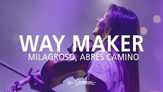 Video Milagroso, Abres Camino / Aquí Estás - Su Presencia (Way Maker -Sinach) - Español | Música Cristiana MP3, 3GP, MP4, WEBM, AVI, FLV September 2019