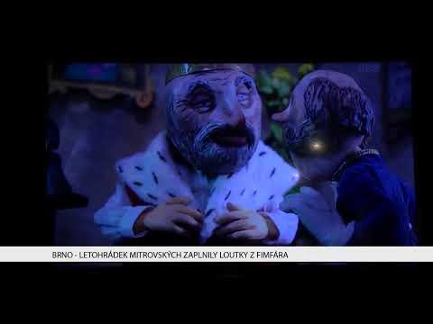 TV Brno 1: 1.2.2018 Letohrádek Mistrovských zaplnily loutky z Fimfára.