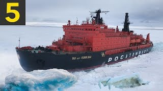 Video 5 Ice Breaking Ships Braving the Arctic Circle MP3, 3GP, MP4, WEBM, AVI, FLV Desember 2018