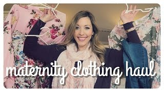 so many subs have requested this video, so i made sure this haul is HUGE! here's some maternity clothing from autumn & eve, ...
