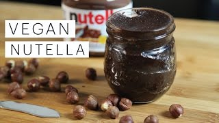 How to Make Nutella (VEGAN)
