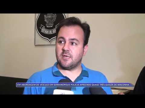 SERRANÓPOLIS | Polícia apreende 3 Kg de maconha durante abordagem em veículo