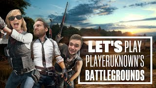 Let's Play PUBG gameplay with Chris, Aoife and Ian - Three is a magic number!