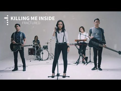 Killing Me Inside Ft AIU - Fractured (Lyric Video + Visualizer)