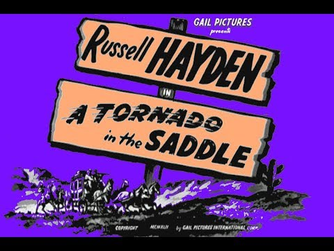A Tornado in the Saddle - Bob Wills, Russell Hayden 1942