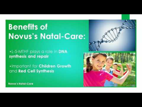 Benefits of Folic Acid's active form - L-5-Methyltetrahydrofolate Calcium Tablets- Natal Care