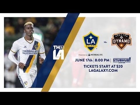Video: It's summer! Watch soccer! See the LA Galaxy take on Houston Dynamo this Saturday