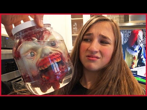 Video Zombie Head in Jar Prank - Scary Clown Caught Stealing on Camera download in MP3, 3GP, MP4, WEBM, AVI, FLV January 2017
