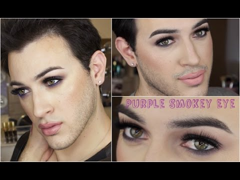 Purple Smokey Eye Makeup Tutorial! | MannyMua