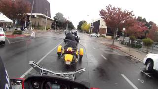 8. Can Am Spyder RT-S Test drive