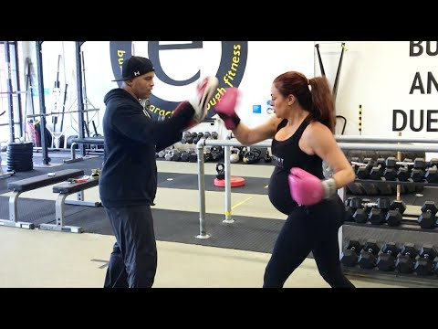 See how Maria Kanellis is staying in shape during her pregnancy: Maria's Pregnancy Vlog