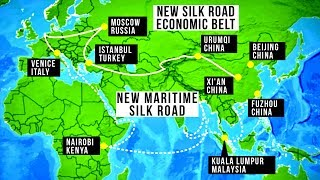 """China's $1 trillion One Belt One Road (New Silk Road) initiative is unprecedented in size and scope. President Xi Jinping has sealed megaproject deals with 65 countries to construct ports, power stations, rail lines, roads, and all the tunnels and bridges needed to connect them back to mainland China. Get your free audiobook: http://www.audibletrial.com/TheDailyConversationSubscribe to TDC: https://www.youtube.com/TheDailyConversation/Video by Bryce Plank and Robin WestMusic:""""Electro Sketch"""" by Kevin MacLeod is licensed under a Creative Commons Attribution license (https://creativecommons.org/licenses/by/4.0/)Source: http://incompetech.com/music/royalty-free/?keywords=electro+sketch&Search=Search""""Abstract Electronic"""" & """"Dark Noir VHS Score"""" by MotionArray.com""""City of Industry"""" & """"Dark Night"""" by Matt Stewart-Evans:https://soundcloud.com/mattstewartevanshttps://www.facebook.com/Matthew.Stewart.EvansInformation sources:https://www.forbes.com/sites/wadeshepard/2017/05/13/i-spent-two-years-on-chinas-belt-and-road-and-this-is-what-i-found-part-1/#7d48bf724b68https://en.wikipedia.org/wiki/Belt_and_Road_Initiativehttps://www.nytimes.com/2017/05/13/business/china-railway-one-belt-one-road-1-trillion-plan.html?_r=2https://qz.com/983581/chinas-new-silk-road-one-belt-one-road-project-has-one-major-pitfall-for-african-countries/https://www.nytimes.com/2017/05/24/business/china-downgrade-explained.htmlhttps://www.youtube.com/watch?v=23Me5E0eUTMhttps://www.brookings.edu/blog/order-from-chaos/2017/05/17/whats-driving-chinas-new-silk-road-and-how-should-the-west-respond/...and the Internet.Script:Having recently completed both the world's most extensive system of expressways and the planet's longest high speed rail network, China is now looking beyond its borders for opportunities to keep building. President Xi Jinping announced at a recent summit that Beijing has sealed megaproject deals with 65 countries throughout Eurasia and Africa to construct ports, power stations, rail lines,"""