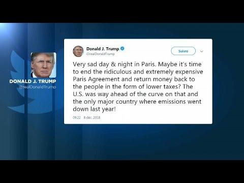 Tweet του Τραμπ υπέρ των Κίτρινων Γιλέκων