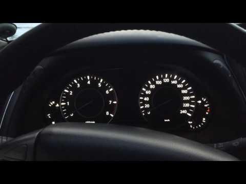 Cold start Nissan Patrol Y62 холодный пуск 2017 (видео)
