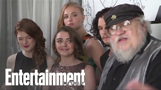 HBO's 'Game of Thrones' cast members and author George R.R. Martin sit down for an interview with EW at comic-Con. Subscribe ...