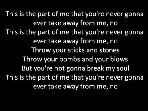 Katy Perry - Part Of Me (lyrics on screen)