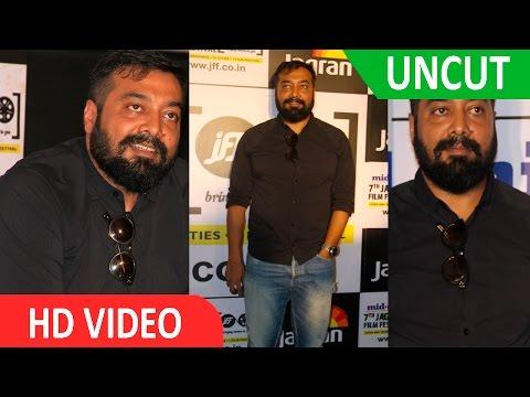 UNCUT-Anurag Kashyap At Jagran Film Festival