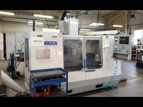 CNC Vertical Machining Center HAAS MIKRON VCE 1250 2000