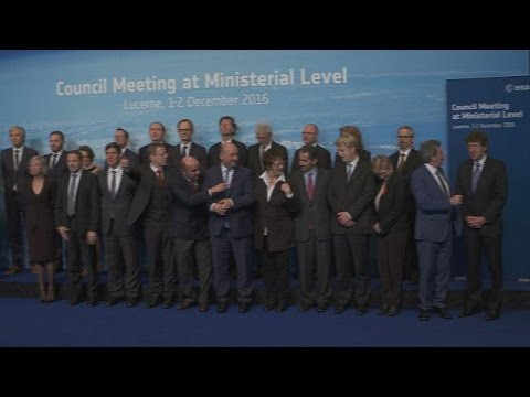 Τα αποτελέσματα της υπουργικής συνόδου για την διαστημική πολιτική της Ευρώπης – space