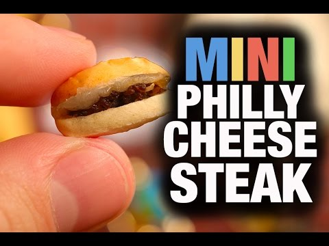 The World s Smallest Philly Cheesesteak