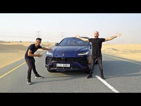DRIVING THE FIRST LAMBORGHINI URUS OF DUBAI!!