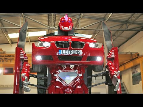 Amazing Real BMW Transformer (видео)