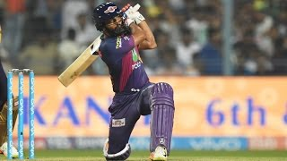 Rahul Tripathi showed his true class, bludgeoning the Kolkata Knight Riders with his aggressive batting