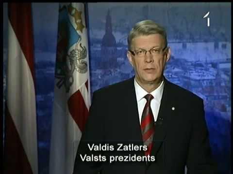 Valdis Zatlers atlaiž 10. Saeimu