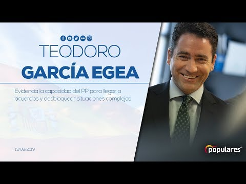 Teodoro García Egea evidencia la capacidad del PP para llegar a acuerdos