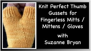 Download Lagu Knit Perfect Thumb Gussets for Fingerless Mitts / Mittens / Gloves Mp3