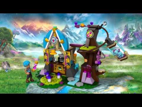 Vidéo LEGO Elves 41173 : L'école des dragons d'Elvendale