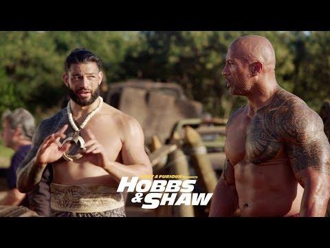 Fast & Furious Presents: Hobbs & Shaw - Dwayne & Roman Reigns as Usos