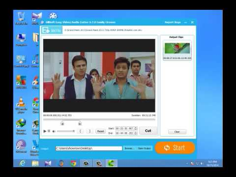 How to  Easy  video Cut on { GiliSoft Video Editor }