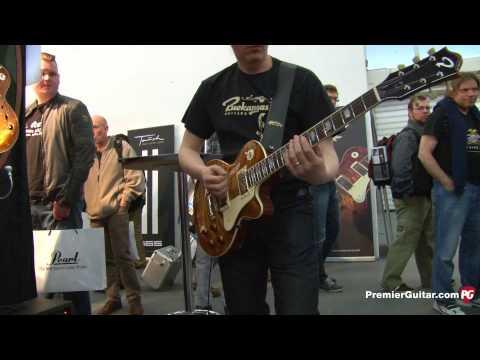 Musikmesse '13 - Ruokangas Guitars Unicorn Artisan, Mojo Grande 12, & Mojo King Demos
