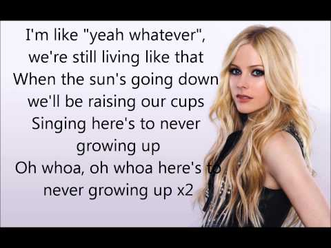 Here's to never growing up Lyrics - Avril Lavigne
