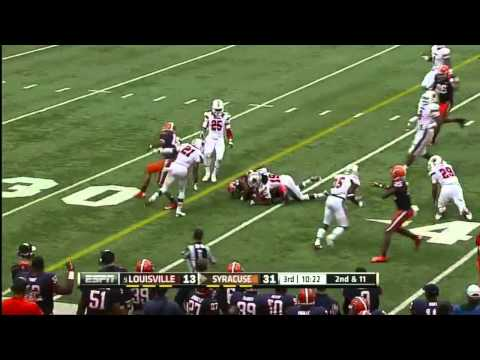 Jerome Smith vs Louisville 2012 video.