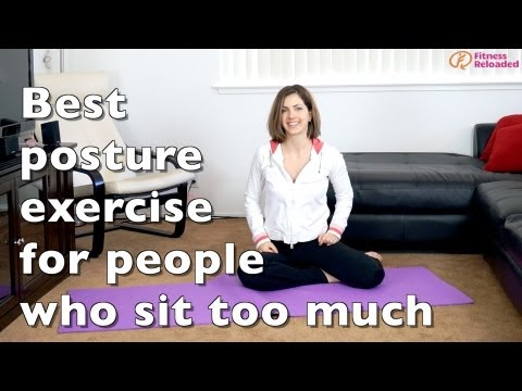 Best posture exercise for hunchbacks, or else kyphosis, or else…slouching too much.