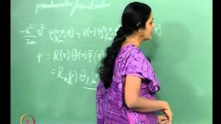 Mod-01 Lec-31 The Spherical Harmonics