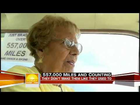 90 Year Old Rachel Veitch And Her 1964 Mercury Comet
