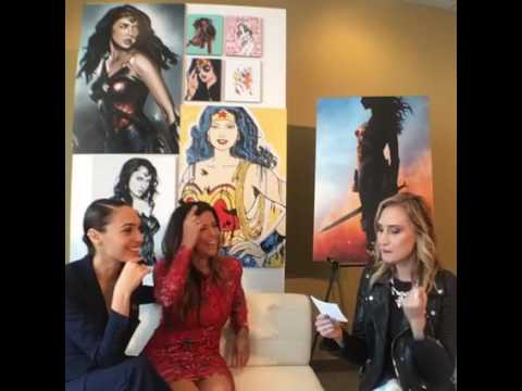 Wonder Woman Day 10-21-2016 - Patty Jenkins and Gal Gadot on Facebook livechat