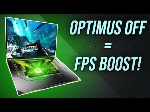 Disabling Optimus = Better Gaming Performance!
