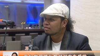 Taicang China  city images : Philippine band interview in taicang china
