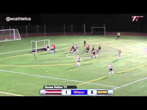 Washington College Field Hockey - Goals v. Wilson College