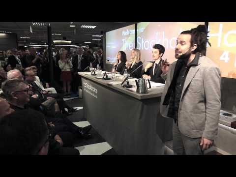 stockholm business region - A remixed, analog version of Stockholm iPad act, performed with office supplies and groovy drummers at MIPIM 2014 in Cannes. On behalf of Stockholm Business ...
