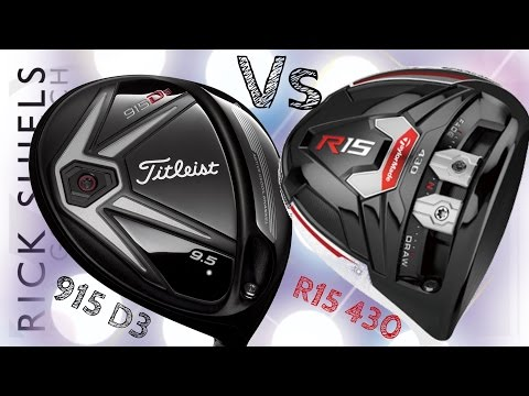 Longest Drive Comp Titleist 915 D3 Vs TaylorMade R15
